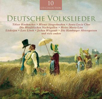Deutsche Volkslieder, 10 Audio-CDs | Dodax.at