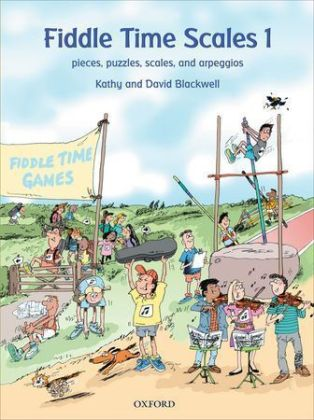 Fiddle Time Scales. Book.1 | Dodax.ch