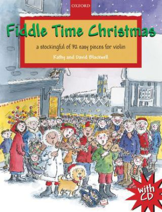 Fiddle Time Christmas, 1-2 violins, w. Audio-CD | Dodax.ca