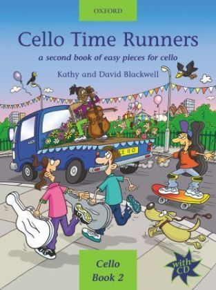 Cello Time Runners, w. Audio-CD | Dodax.ca