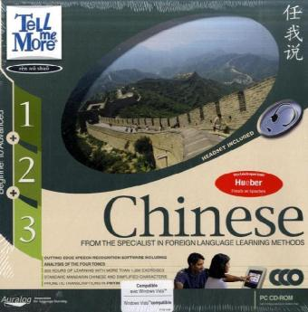 TELL ME MORE® – Chinese Beginner to Advanced 1 + 2 + 3 | Dodax.fr