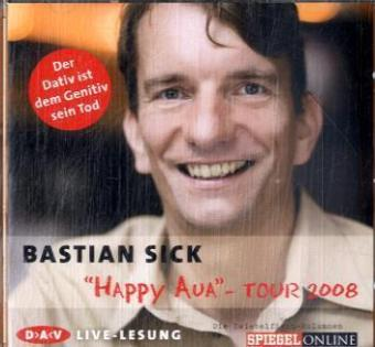 """Happy Aua""-Tour 2008, Audio-CD 