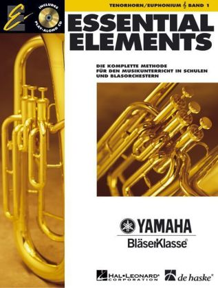 Essential Elements, für Tenorhorn/Euphonium in B (TC), m. Audio-CD. Bd.1 | Dodax.at