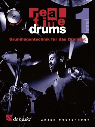 Real Time Drums, m. Audio-CD. Level.1 | Dodax.pl