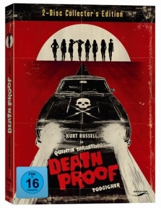 Death Proof, Todsicher, 2 DVDs (Collector's Edition) | Dodax.co.uk