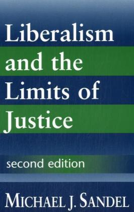 Liberalism and the Limits of Justice | Dodax.ch