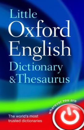 Little Oxford Dictionary and Thesaurus | Dodax.ch
