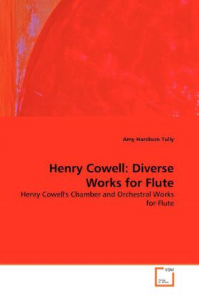 Henry Cowell: Diverse Works for Flute | Dodax.pl