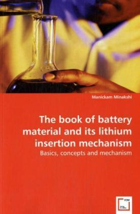 The book of battery material and its lithium insertion mechanism | Dodax.pl
