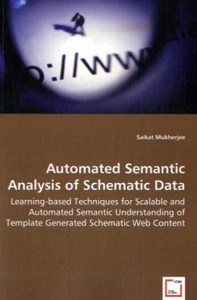 Automated Semantic Analysis of Schematic Data   Dodax.ch