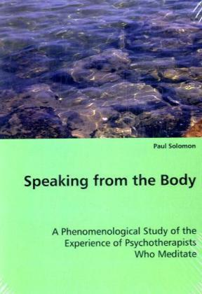 Speaking from the Body | Dodax.ch