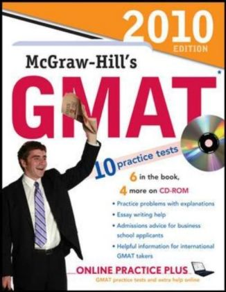 McGraw-Hill's GMAT 2010, w. CD-ROM | Dodax.ch