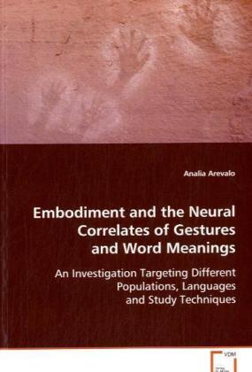 Embodiment and the Neural Correlates of Gestures and Word Meanings | Dodax.at