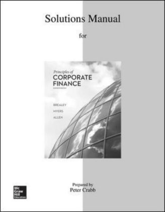 Solutions Manual to accompany Principles of Corporate Finance | Dodax.pl