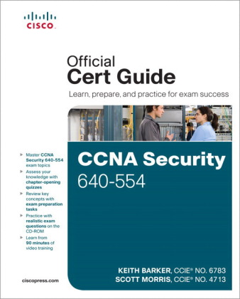 CCNA Security Offical Exam Certification Guide, w. CD-ROM | Dodax.at