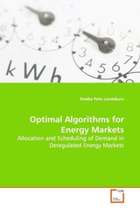 Optimal Algorithms for Energy Markets | Dodax.at