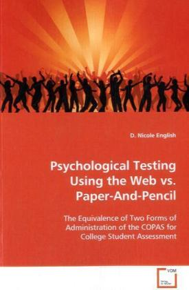 Psychological Testing Using the Web vs. Paper-And- Pencil | Dodax.de