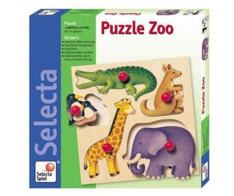 Puzzle Zoo (Holzpuzzle) | Dodax.at