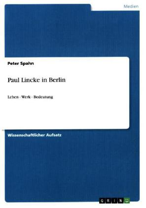 Paul Lincke in Berlin | Dodax.ch