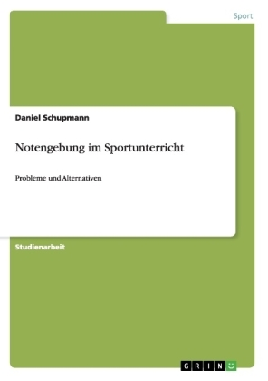 Image of Notengebung im Sportunterricht