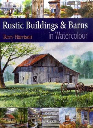 Rustic Buildings & Barns in Watercolour | Dodax.pl