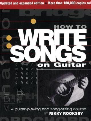 How to Write Songs on Guitar, English edition | Dodax.at