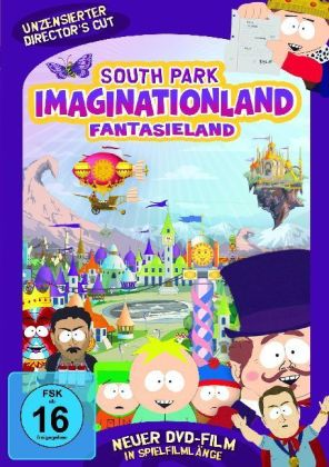South Park, Imaginationland, 1 DVD (Director's Cut). South Park, Fantasieland, Director's Cut, 1 DVD, deutsche Version | Dodax.nl