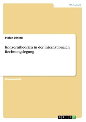 Konzerntheorien in der internationalen Rechnungslegung | Dodax.nl