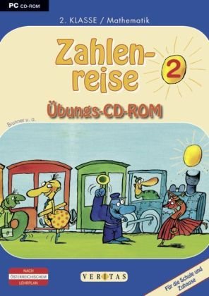 Zahlenreise, 2. Klasse / Mathematik, 1 Übungs-CD-ROM | Dodax.at