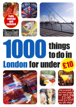 Time Out 1000 things to do in London for under £10   Dodax.at