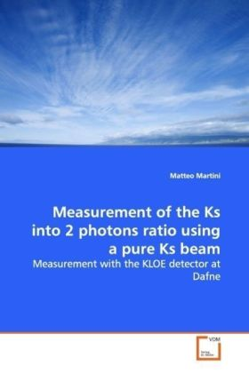 Measurement of the Ks into 2 photons ratio using a pure Ks beam | Dodax.pl