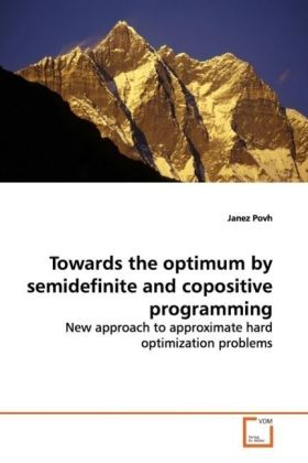 Towards the optimum by semidefinite and copositive programming | Dodax.pl