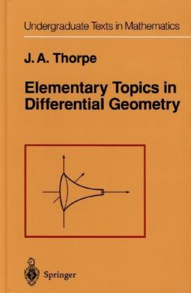 Elementary Topics in Differential Geometry | Dodax.pl