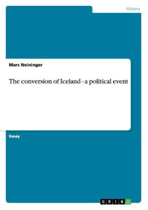The conversion of Iceland - a political event | Dodax.ch