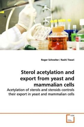 Sterol acetylation and export from yeast and mammalian cells | Dodax.pl