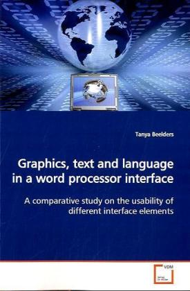 Graphics, text and language in a word processor interface | Dodax.es