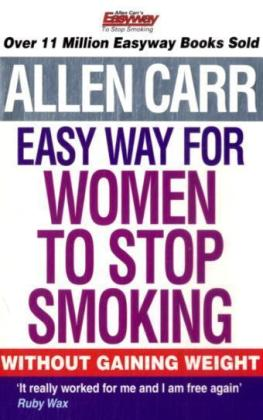 Allen Carr's Easy Way for Women to Stop Smoking   Dodax.at