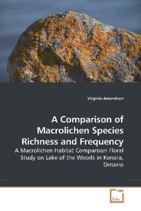 A Comparison of Macrolichen Species Richness and Frequency | Dodax.pl
