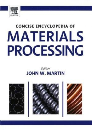 The Concise Encyclopedia of Materials Processing | Dodax.ch