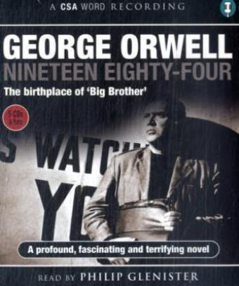 Nineteen Eighty-Four, 5 Audio-CDs | Dodax.nl