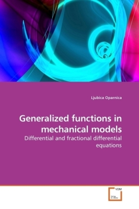 Generalized functions in mechanical models | Dodax.ch