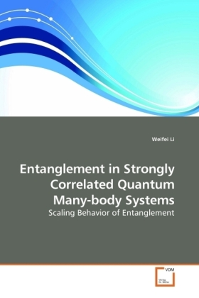 Entanglement in Strongly Correlated Quantum Many-body Systems | Dodax.at