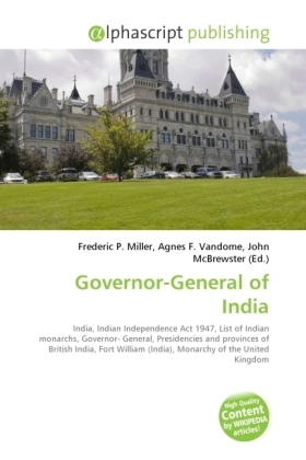 Governor-General of India | Dodax.pl