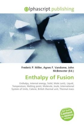 Enthalpy of Fusion | Dodax.at
