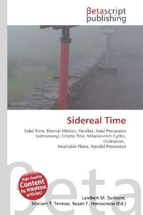 Sidereal Time   Dodax.ch