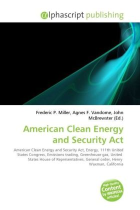 American Clean Energy and Security Act | Dodax.at