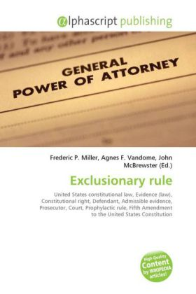 Exclusionary rule | Dodax.ch