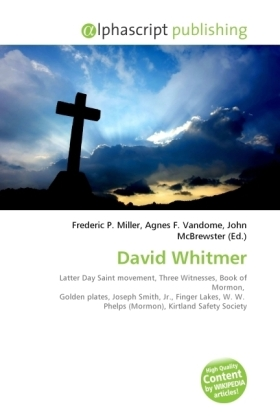 David Whitmer | Dodax.de
