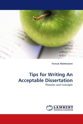 Tips for Writing An Acceptable Dissertation | Dodax.de