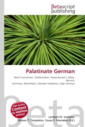 Palatinate German | Dodax.pl